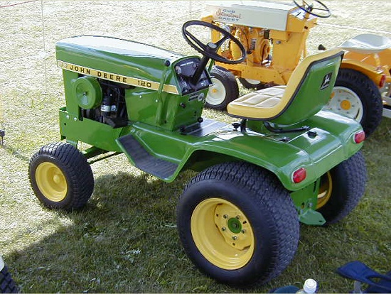 John Deere 120 Garden Tractor. This Page Is Dedicated To All Things For The John  Deere 120