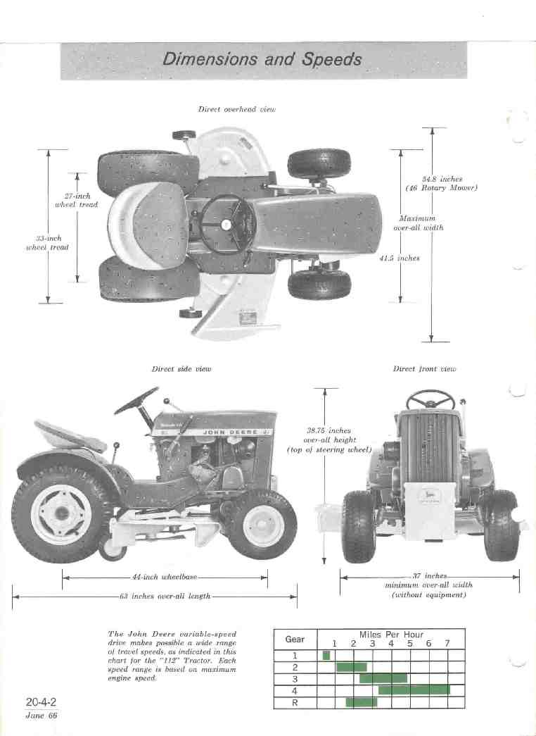 Wiring Diagram For John Deere 112 : John deere garden tractor this page is dedicated to
