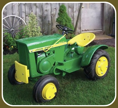 Good idea Small garden tractors vintage or antique