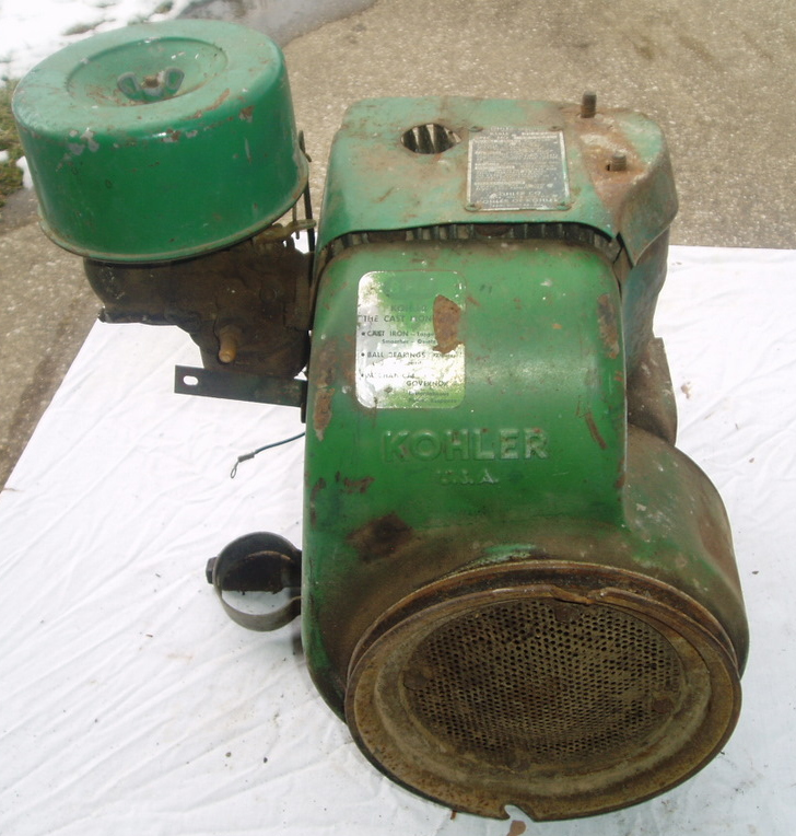 John Deere 110 & 112 Parts (1964-1967) - Engine - Model K181 Kohler ...